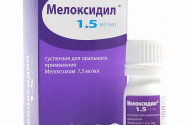 мелоксидил суспензия