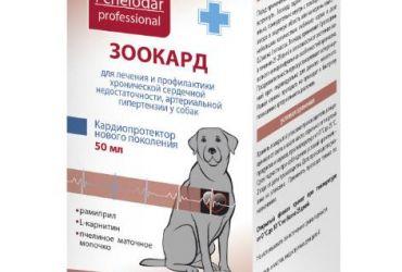 Зоокард суспензия для собак средних и крупных пород 50 мл